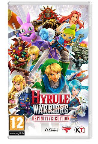 Hyrule Warriors Definitive Edition - Dlc - Jeu Complet