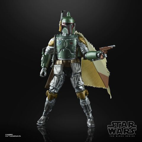 Figurine - Star Wars The Black Series - Carbon 2nd Metallic Boba Fett