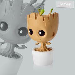 Lampe - Marvel - Baby Groot