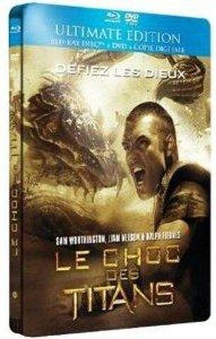 Le Choc Des Titans - Br + Dvd