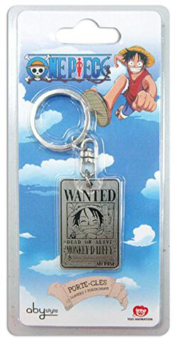 Porte-clés - One Piece - Wanted Luffy
