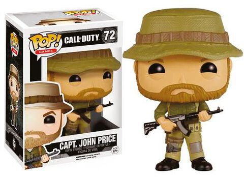 Figurine Funko Pop! N°72 - Call Of Duty - Capt. John Price