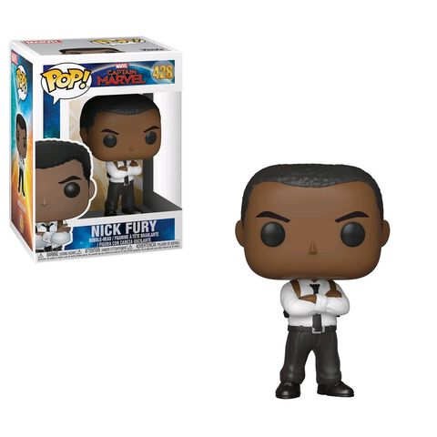 Figurine Funko Pop! N°428 - Captain Marvel - Nick Fury