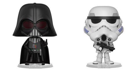 Figurine Vynl - Star Wars - Episode V Twin Pack Dark Vador et Stormtrooper