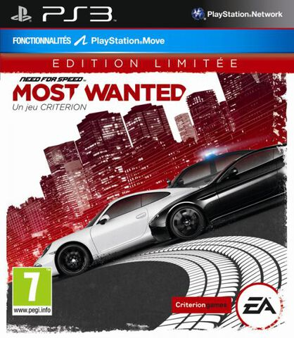 Need For Speed : Most Wanted Edition Limitée