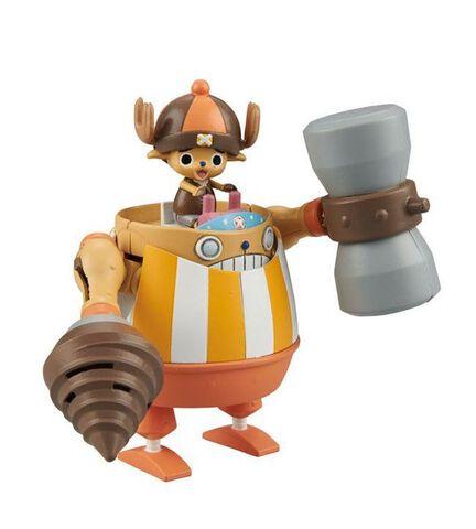 Maquette - One Piece - Chopper Robo Super 4 Kung Fu Tracer