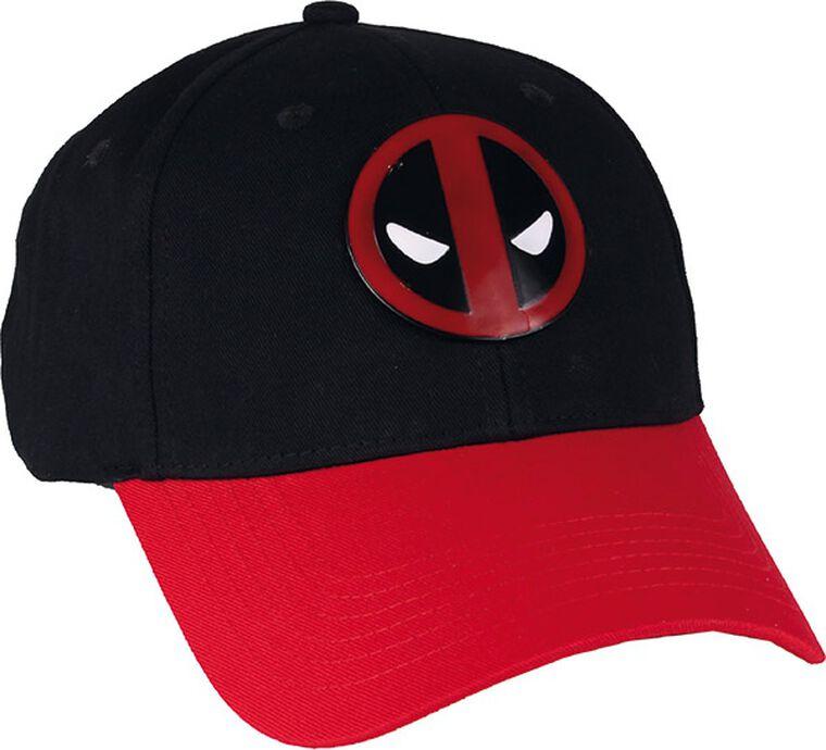 Casquette - Marvel - Deadpool Logo métal vintage noir / rouge - Taille unique