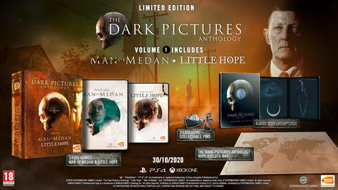 The Dark Pictures Vol.1 (man Of Medan+little Hope)