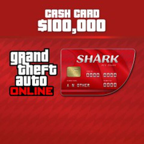 DLC - Grand Theft Auto V (GTA V) - Red Shark PS4