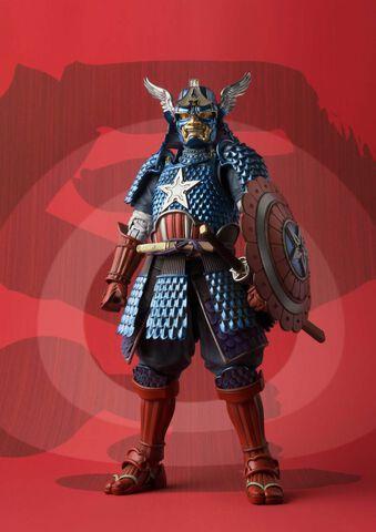 Figurine Meisho Movie - Marvel - Samurai Captain America