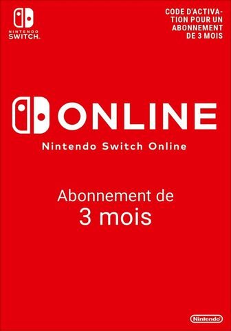 Nintendo Switch Online 90 jours