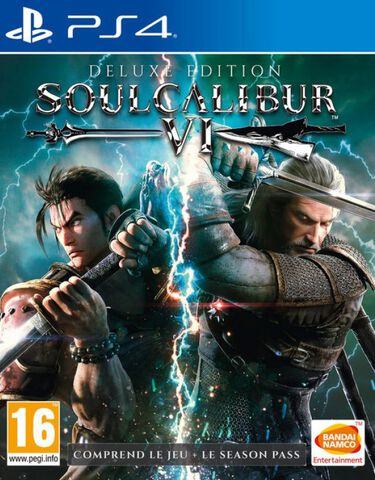 Soulcalibur VI Deluxe Edition Exclusivité Micromania
