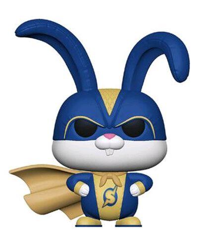Figurine Funko Pop! N°765 - Comme des Bêtes 2 - Snowball dans costume de super-héros