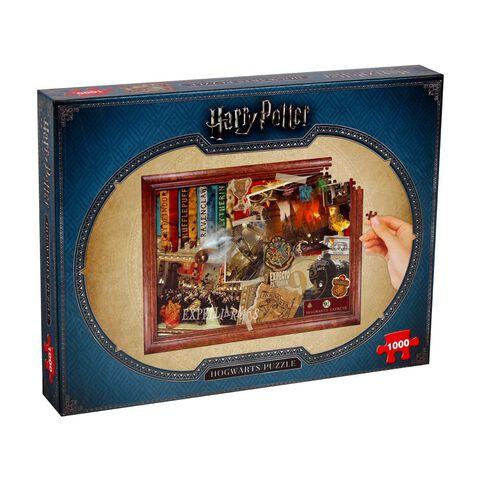 Puzzle - Harry Potter - Hogwarts Poudlard 1000 pièces