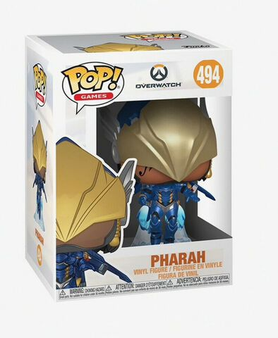 Figurine Funko Pop! N°494 - Overwatch - S5 Pharah (pose de victoire)