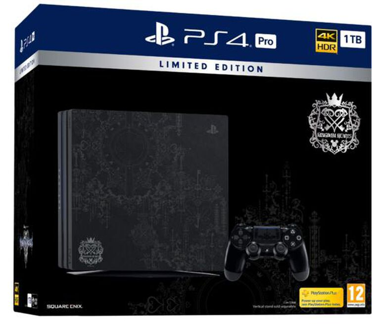 Pack Ps4 Pro 1to Noire + Kingdom Hearts 3