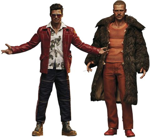 Figurine Blitzway - Fight Club Pack 2 Figurines 1/6 Tyler Durden (Brad Pitt)