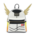 Mini sac à dos Loungefly - Overwatch - Ange jaune et rouge