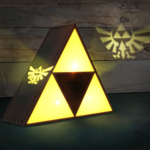 Lampe - Zelda - Tri-force