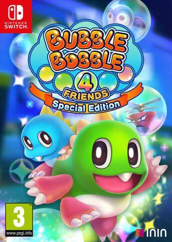 Bubble Bobble 4 Friends Edition Spéciale (exclusivité Micromania)