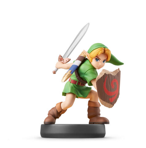 Figurine Amiibo N°70 Smash Link Enfant