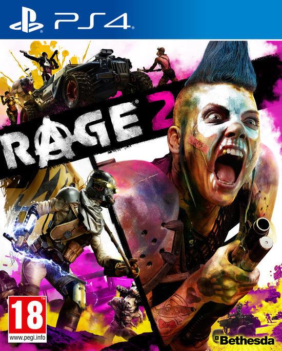 Jeu PS4 Bethesda Rage 2