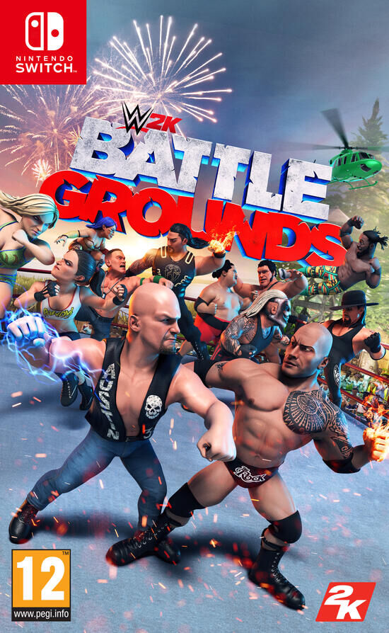 WWE 2K Battlegrounds Nintendo Switch