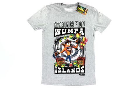T-shirt - Crash Bandicoot - Wumpa Island - Taille S