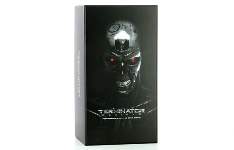 Statuette Silver Fox Collectibles -terminator Genisys -  Endoskeleton 1/10 T- 80