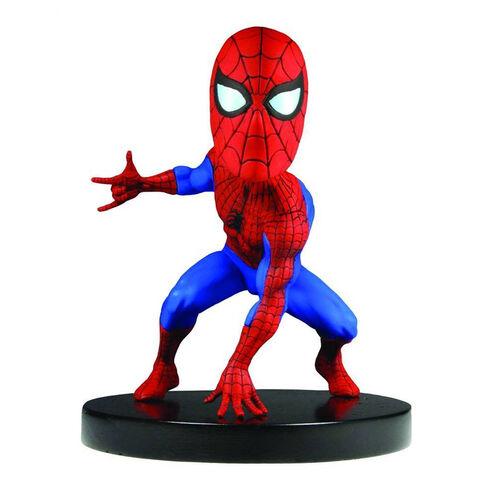 Figurine Spider-Man Head Knocker Spider-Man - Exclusivité Micromania.fr