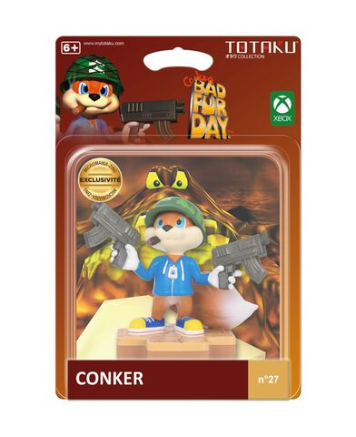Figurine Totaku N°27 - Conkers Bad Fur Day - Conker - Exclusivité Micromania-Zing