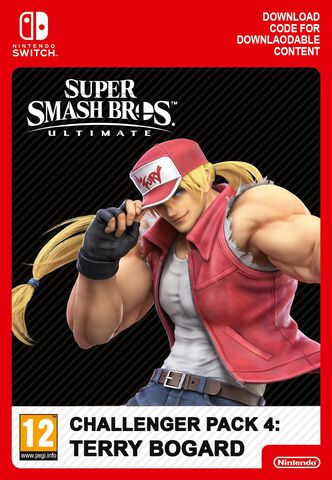 Super Smash Bros. Ultimate - Dlc - Set De Combattant Terry Bogard