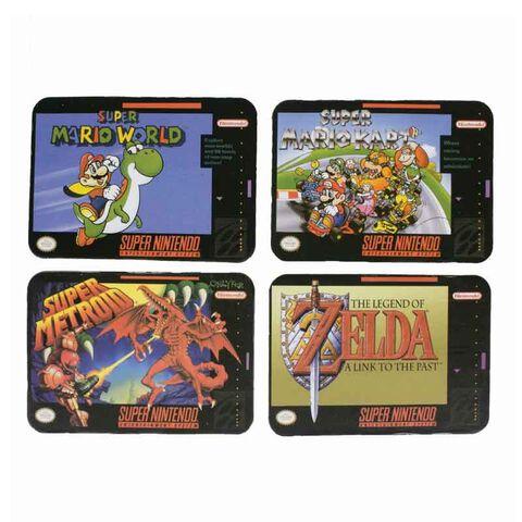 Dessous De Verre - Nintendo - Jeux Super Nintendo (exclu Gs)