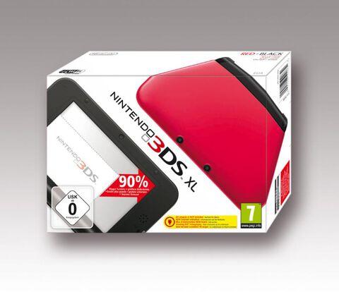 Nintendo 3DS XL Rouge + Noir