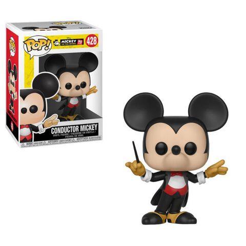 Figurine Funko Pop! N°428 - 90eme Anniversaire de Mickey - Mickey chef d'orchestre