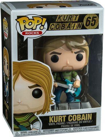 Figurine Funko Pop! N°65 - Rock - Kurt Cobain