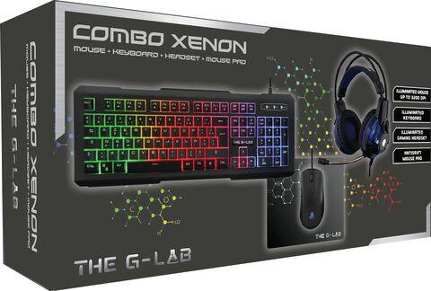Combo Xenon Gaming The G-lab (casque + Clavier + Souris + Tapis De Souris)