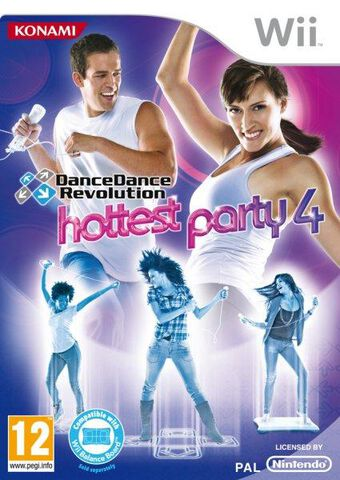 Dancedance Revolution : Hottest Party 4 + Tapis