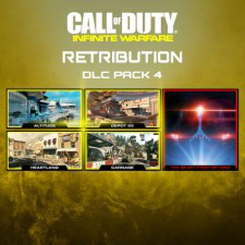 Dlc 4 Call Of Duty Infinite Warfare Retribution Ps4