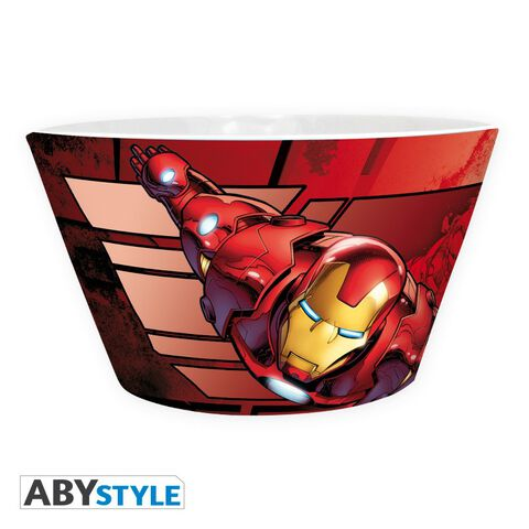 Bol - Marvel - Iron Man Vs Captain America 460 Ml