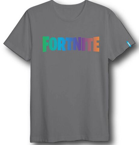 T-shirt Enfant - Fortnite - Logo Couleur