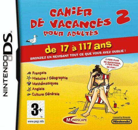 Cahier De Vacances Pour Adultes 2