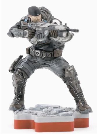 Figurine Totaku N°26 - Gears of War - Marcus Fenix