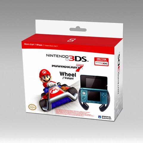 Volant Nintendo 3ds Pour Mario Kart 7