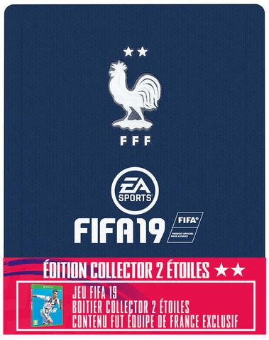 FIFA 19 Edition Collector 2 étoiles