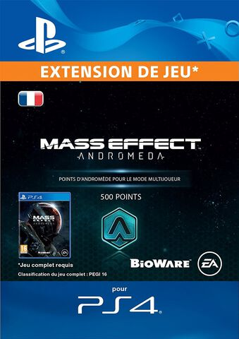 DLC - Mass Effect Andromeda 500 Points