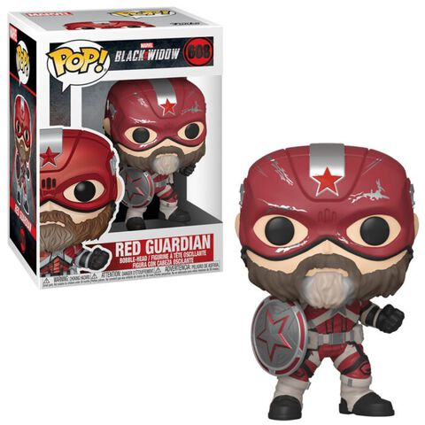 Figurine Funko Pop! N°608 - Black Widow - Gardien Rouge