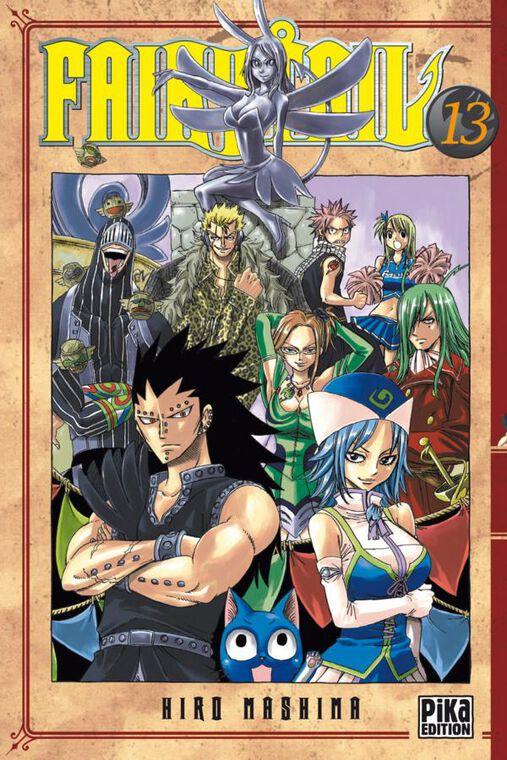 Manga - Fairy Tail - Tome 13