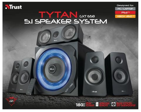 Enceinte Gaming TRUST GXT658 Tytan 5.1 Surround