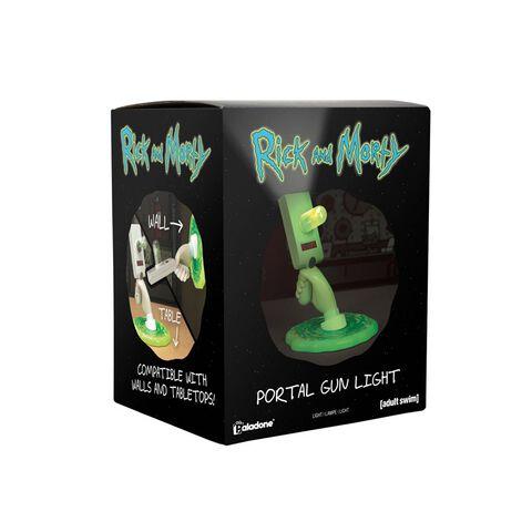 Lampe - Rick et Morty - Portal Gun